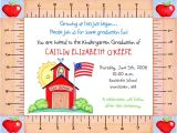 Pre K Graduation Invitations Kindergarten Preschool Graduation Invitations Graduation