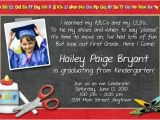Pre K Graduation Invitations Prekindergarten Graduation Invitation