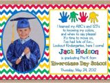 Pre K Graduation Invitations Preschool Graduation Gift High School for Quotes Quotesgram