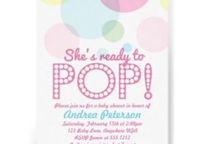 Pre Made Baby Shower Invitations 17 Best Images About 1st Birthday Balloons and Bubbles On
