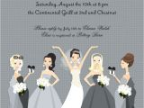 Pre Printed Bridal Shower Invitations In 194