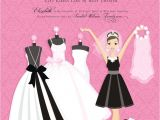 Pre Printed Bridal Shower Invitations In 259