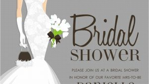 Pre Printed Bridal Shower Invitations In 298