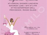 Pre Printed Bridal Shower Invitations In Glamour Girl Bridal Shower Afr Amer Classic P Pre