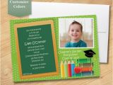 Pre Printed Graduation Party Invitations Photo Pre School Graduation Invitation Elementary