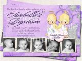 Precious Moments Baptism Invitations Baptism Invitation Thank You Birth Announcement Angels
