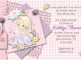 Precious Moments Invitations for Baby Shower Pink Precious Moments Baby Shower Invitations