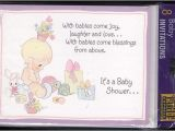 Precious Moments Invitations for Baby Shower Precious Moments 1995 Vintage Baby Shower by Vintagerecycling