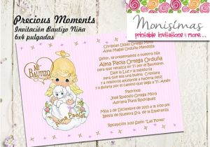 Precious Moments Printable Baptism Invitations Invitation Precious Digital Moments Personalized Printable