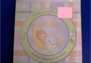Precious Moments Printable Baptism Invitations Rare Precious Baby Moments Shower Vintage Pastel Party