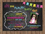Preschool Graduation Invitation Dr Seuss Kindergarten Graduation Invitation Preschool