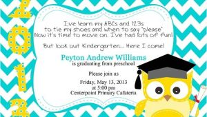 Preschool Graduation Invitation Graduation Invitations Easyday