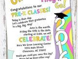 Preschool Graduation Invitation Ideas Oh the Places You 39 Ll Go Preschool Graduation Invitation