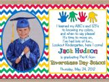 Preschool Graduation Invitation Ideas Preschool Graduation Invitation Ideas Doyadoyasamos Com