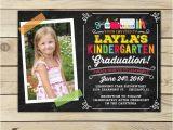 Preschool Graduation Invitation Kindergarten Graduation Invitation Preschool Graduation