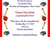 Preschool Graduation Invitation Pre K Graduation Quotes Quotesgram