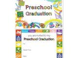 Preschool Graduation Invitation Preschool Graduation Announcement Gradshop