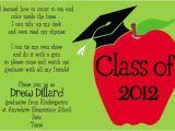 Preschool Graduation Invitation Wording Love This Invitation Wording for Kindergarten Graduation