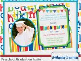 Preschool Graduation Invitations Free Printable A Manda Creation Preschool Party Graduation Printables