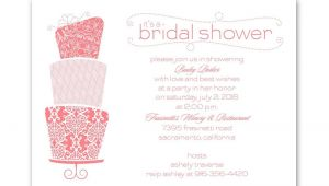 Pretty Bridal Shower Invitations Pretty Cake Petite Bridal Shower Invitation Invitations