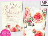 Pretty Bridal Shower Invitations Pretty Peach Floral Bridal Shower Invitations by Metro