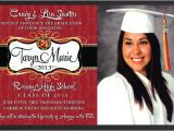 Pretty Graduation Invitations Custom Graduation Invitations Oxsvitation Com