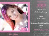 Pretty Graduation Invitations How to Make Cheap Graduation Announcements Rebecca Autry