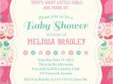 Pretty In Pink Baby Shower Invitations Pretty Bold Pink & Teal Floral Baby Shower Invitation