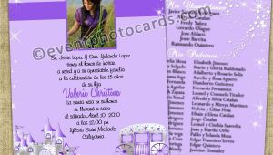 Pretty Quinceanera Invitations Purple Princess Quinceanera Invitations Sweet 15