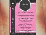 Pretty Quinceanera Invitations Sweet Sixteen Birthday Invitation Quinceanera by Mvdesignink