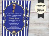 Prince Baby Shower Invites Little Prince Baby Shower Invitations Little Prince Baby
