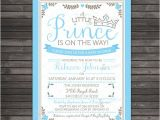 Prince Baby Shower Invites Little Prince Baby Shower Invitations