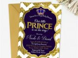 Prince Baby Shower Invites Royal Prince Baby Shower Invitation Printable Royal Baby