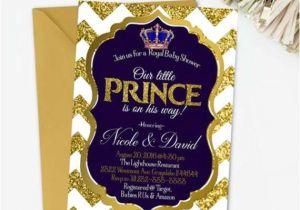 Prince Baby Shower Invites Royal Prince Baby Shower Invitation Printable Royal Baby