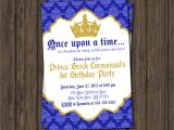Prince First Birthday Invitations Prince Birthday Invitation First Birthday Invitations