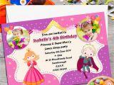 Princess and Superhero Party Invitations 10 Personalised Princess Super Hero S Birthday Party