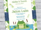 Princess and the Frog Baby Shower Invitations Frog Baby Shower Invitation Baby Shower Princess by