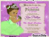 Princess and the Frog Baby Shower Invitations Frog Princess Baby Shower Invitation Vintage Ballerina Girl