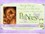 Princess and the Frog Baby Shower Invitations Frog Princess Shower Invitation Baby Girl Froggy Crown