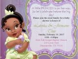 Princess and the Frog Baby Shower Invitations Princess and the Frog Baby Shower by Tsinspiredcreations