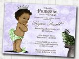 Princess and the Frog Baby Shower Invitations Princess and the Frog Birthday or Baby Shower Invitation for