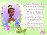 Princess and the Frog Baby Shower Invitations Princess and the Frog Birthday Party Printables