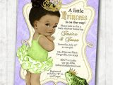 Princess and the Frog Baby Shower Invitations Princess and the Frog Invitation Frog Prince Baby Shower or