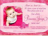 Princess Baptism Invitations Little Princess Birthday Invitation Royal Party Crown