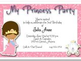 Princess Bday Party Invitations Ethnic Princess Party Invitation Princess Birthday Party