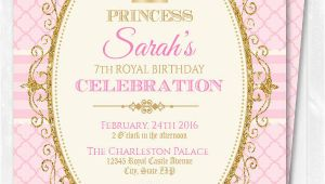 Princess Birthday Invitation Template 18 Beautiful Princess Invitations Psd Ai Free