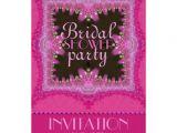 Princess Bridal Shower Invitations Pink Bohemian Princess Bridal Shower Invitations