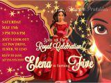 Princess Elena Of Avalor Party Invitations Elena Of Avalor Birthday Invitation Princess Elena Invite