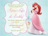 Princess First Birthday Invitation Wording 1st Birthday Princess Invitation Wording