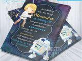 Princess Leia Party Invitations Princess Leia Invitations Star Wars Jedi Invitation Leia